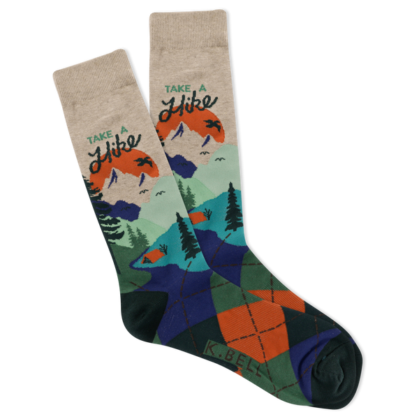 Men's Take A Hike Crew Socks