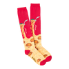 Women's Spaghetti & Meatballs Knee High Socks