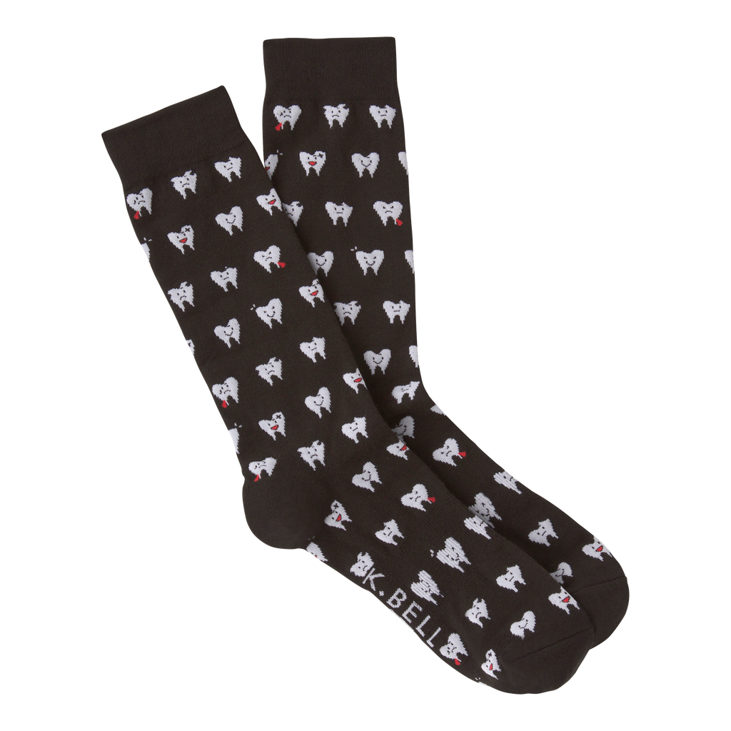 LBBDz Shark Tooth Check Mens Crew Socks Casual Socks