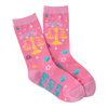 Women's Libra Crew Socks