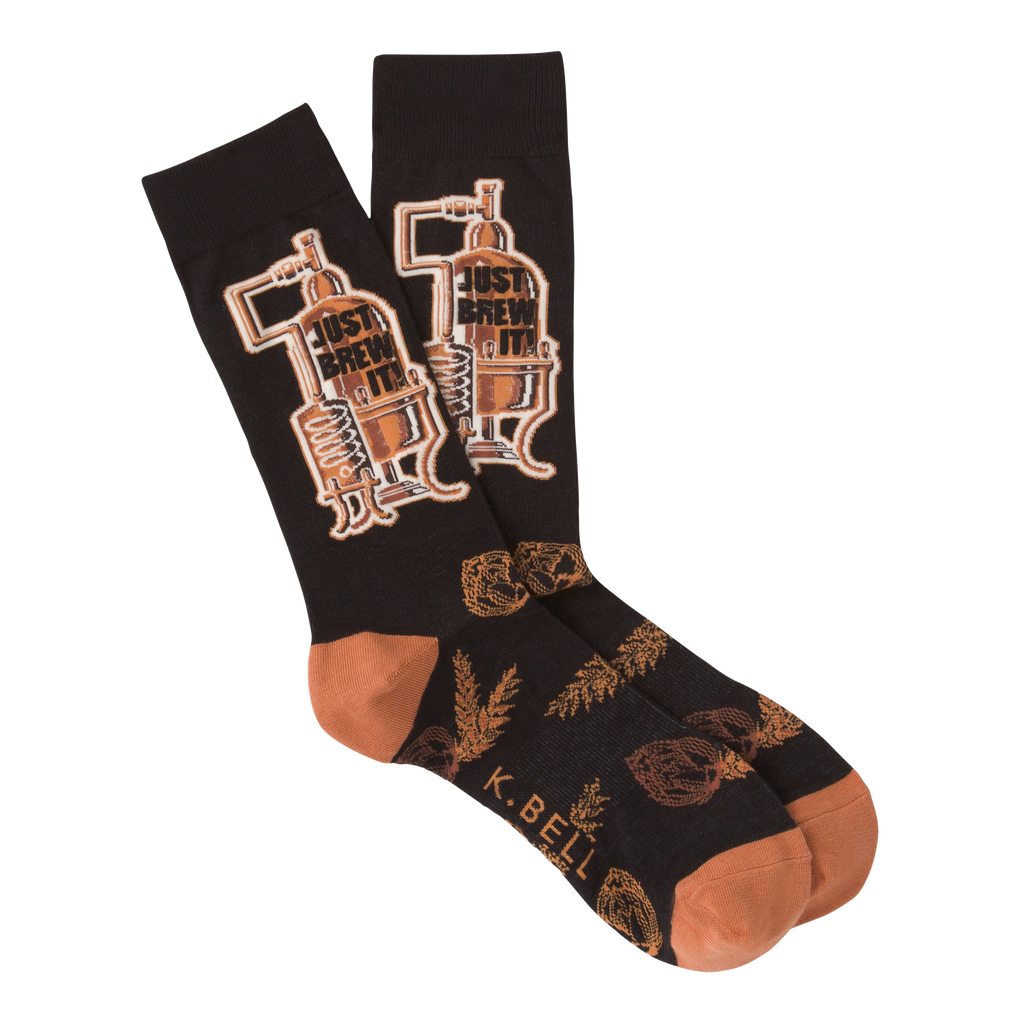 Men's Just Brew It Crew Socks