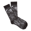 Men's Space Junk Crew Socks - American Made