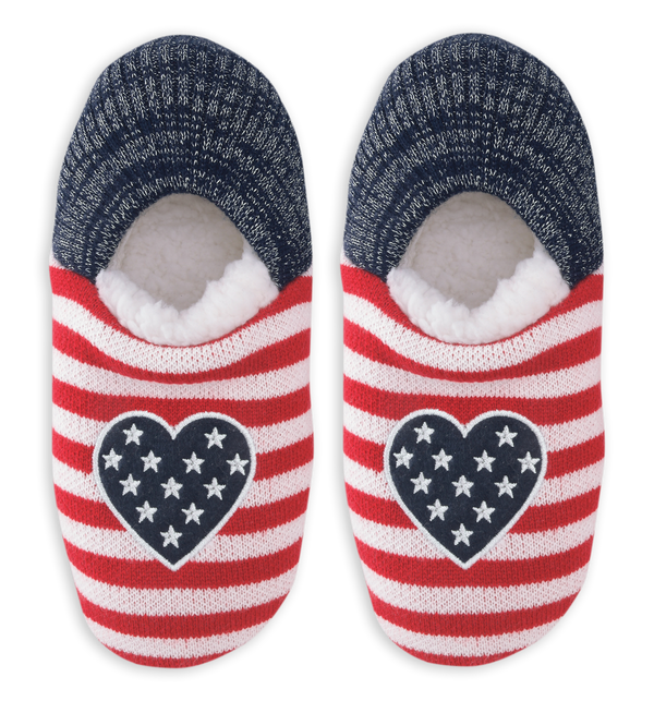 Women's Americana Heart Slippers
