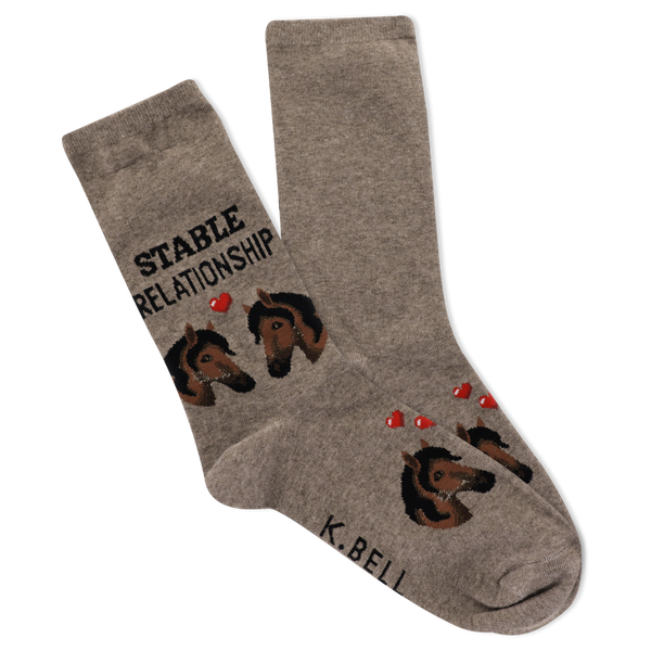 Women's Stable Relationship Crew Socks