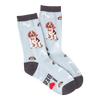 Women's Beagle Crew Socks