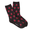 Women's Large Ladybugs Crew Socks