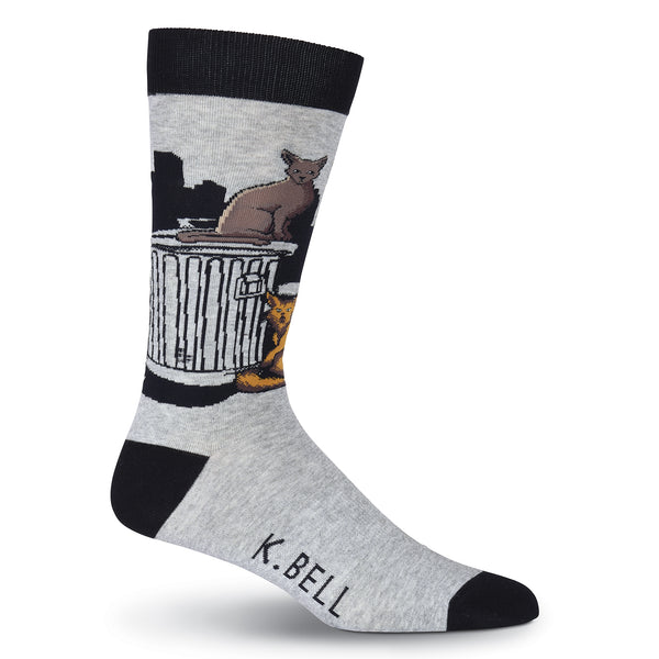 Men's Tom Cat Crew Socks