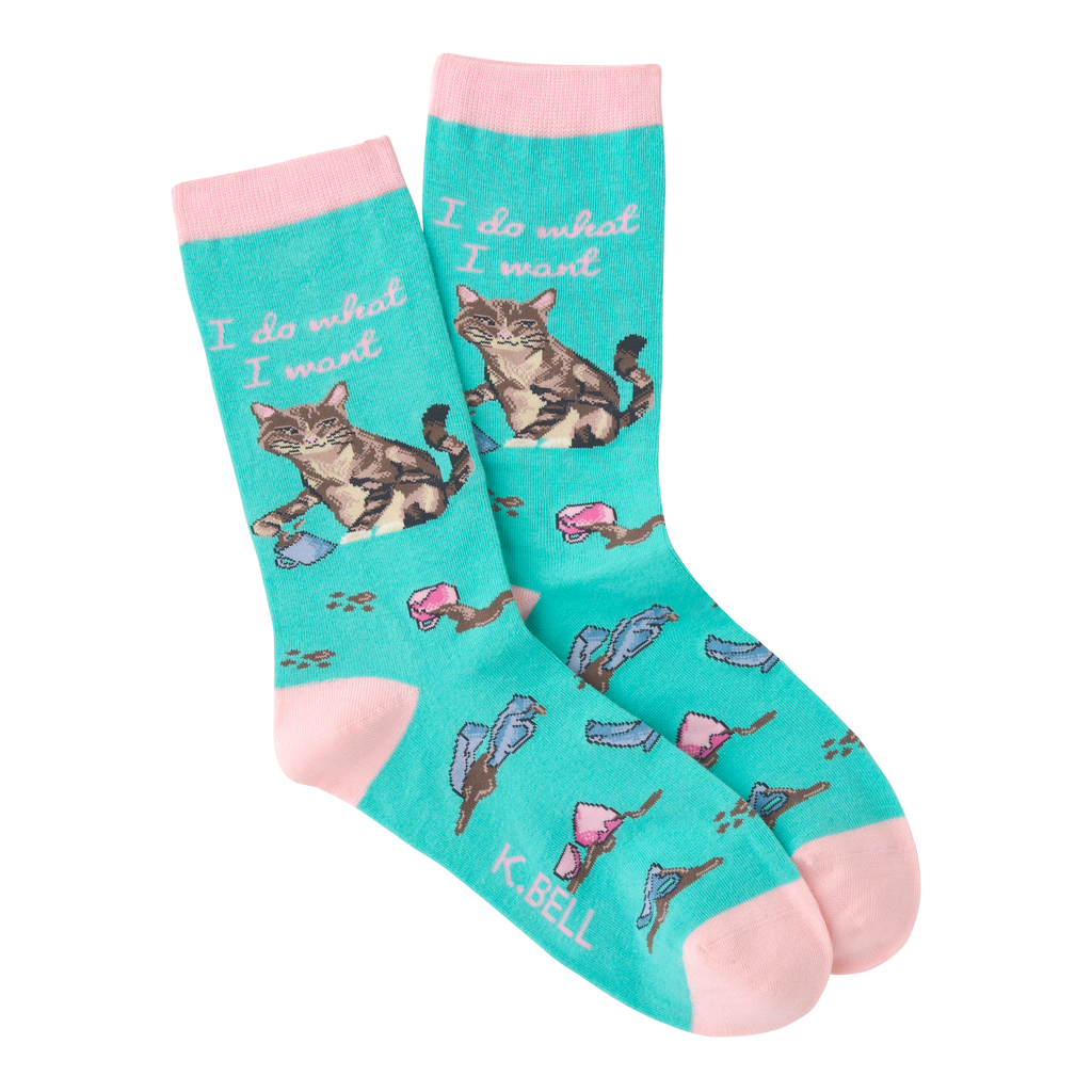 Women's I Do What I Want Crew Socks