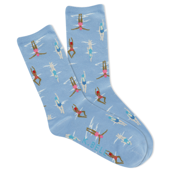 Women's Swimmers Crew Socks