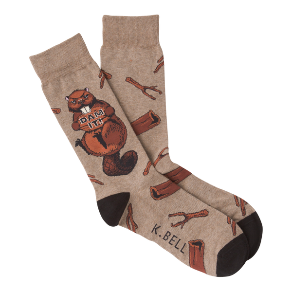 Men's Dam It Crew Socks