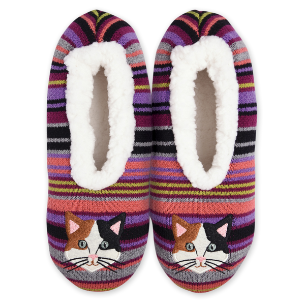 Women's Cozy Cat Slippers