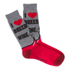 Men's Box Wine Crew Socks