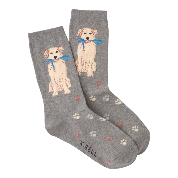 Women's Dog Walk Crew Socks