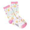 Women's I'm so Eggstra Crew Socks