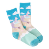 Kid's Unicorn Mermaid Crew Socks
