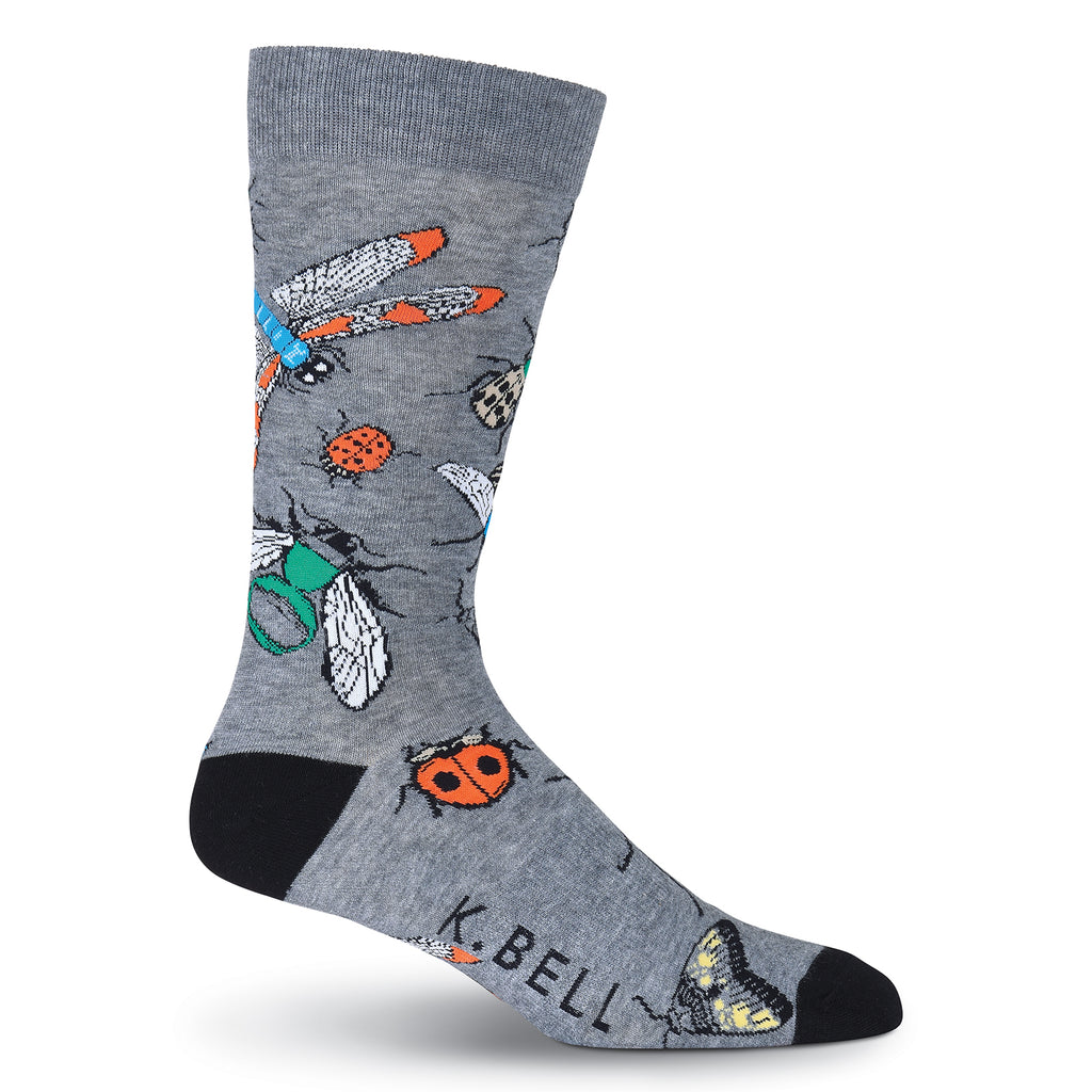 Men's Insects Crew Socks