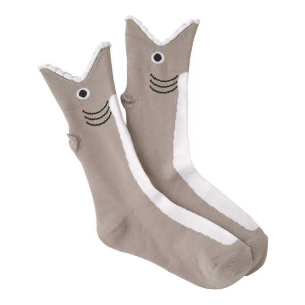 Women's Wide Mouth Shark Crew Socks