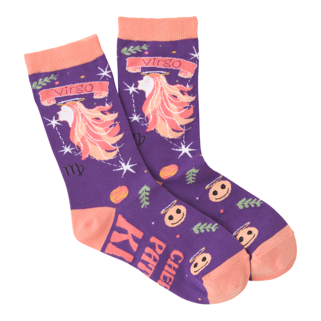 Women's Virgo Crew Socks