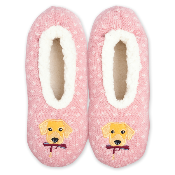 Women's Cozy Dog Slippers