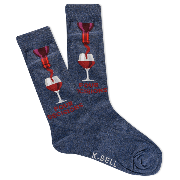 Men's Pour Decisions Crew Socks