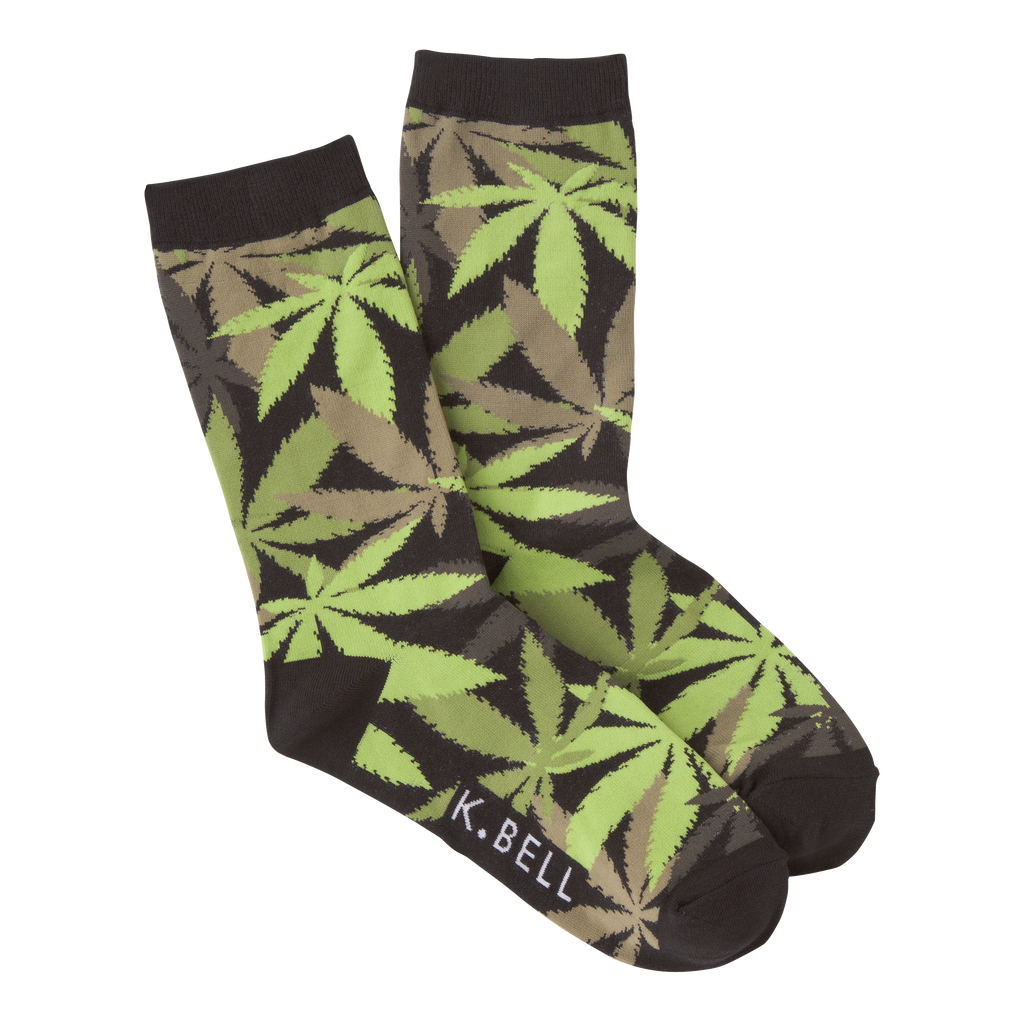 Women's Pot Luck Crew Socks