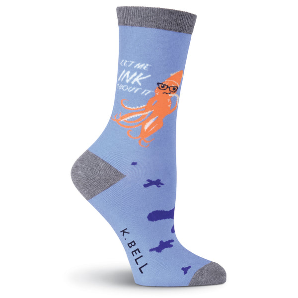 Women's Squid Ink Crew Socks