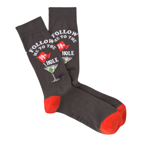 Men's 19th Hole Crew Socks
