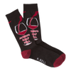Men's Glass Half Full Crew Socks