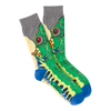 Men's Rainforest Frog Crew Socks