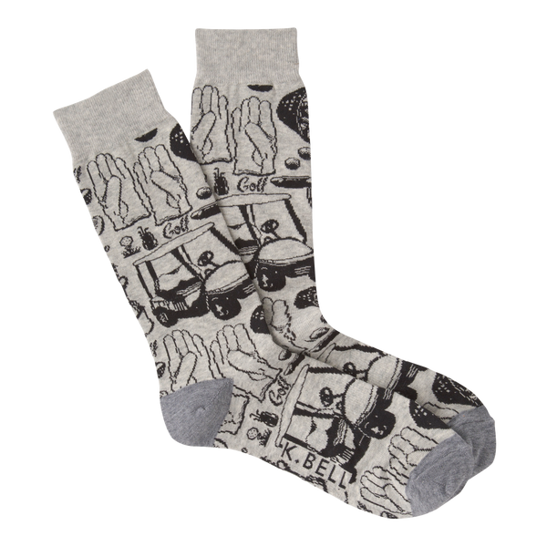 Men's Golf Sketch Crew Socks