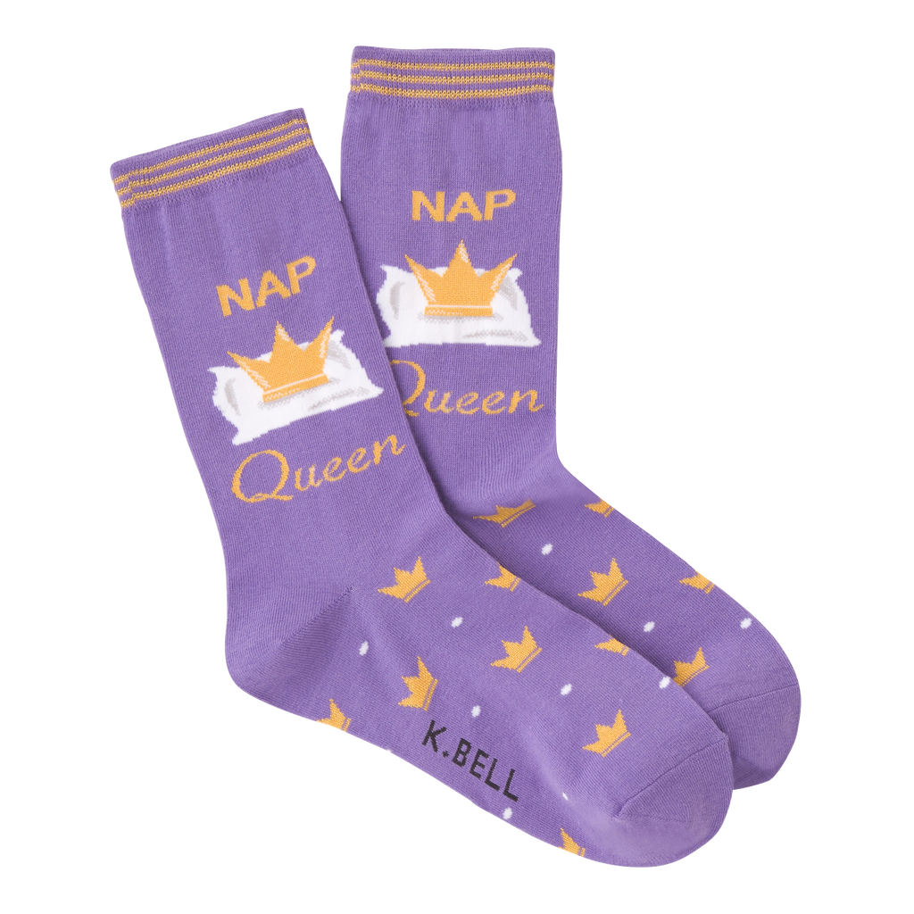 Women's Nap Queen Crew Socks