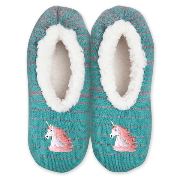 Women's Cozy Unicorn Slippers