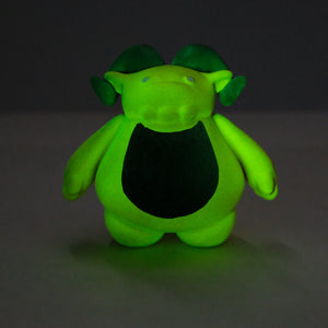 "3"" Black and Yellow Glow (GLOW IN THE DARK) (website test do not buy)"
