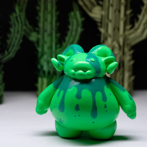"3"" Green Glow Slimer Ramble"