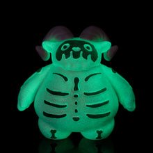 "Load image into Gallery viewer, 3"" Glow in the Dark Skelly Ramble"