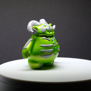 "3"" Pearlescent Lime Skelly Ramble"