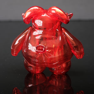 "3"" Clear Red Water Balloon Ramble"