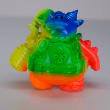 "Load image into Gallery viewer, 2.5"" Spastic Collectibles Technicolor Mecha Ramble Proto"