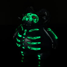 "Load image into Gallery viewer, 4"" Glow-in-the-Dark Ramghoul Skelly"