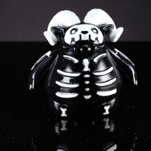 "4"" Black and White Skelly with 1 in 3 Chance of a GITD Chase Variant"