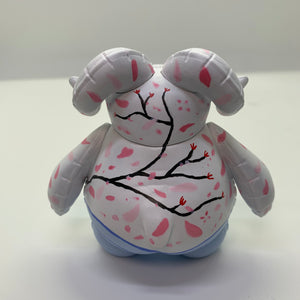 "4"" Cherry Blossom Balloon Ramble with Stand"