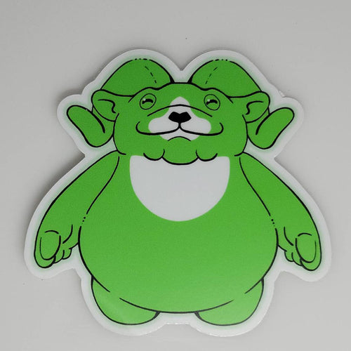 Radiant Ramble Vinyl Sticker (Non-GITD)