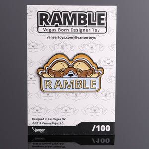 Ramble Founders Gradient Enamel Pin