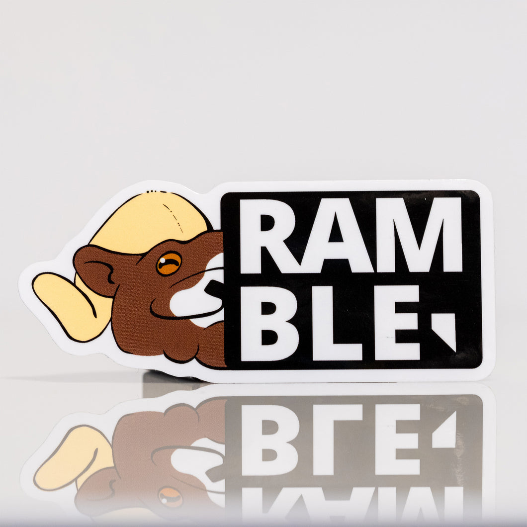 Ramble Founders Edition Nevada Stamp Vinyl Sticker