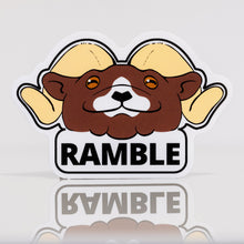 Load image into Gallery viewer, Ramble Ahead Vinyl Sticker