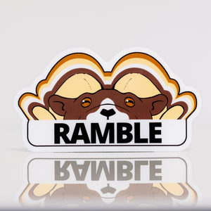 Ramble Founders Colorway Vinyl Sticker