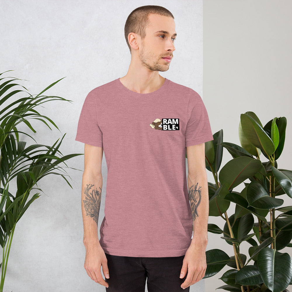 Ramble Nevada Stamp Short-Sleeve Unisex T-Shirt