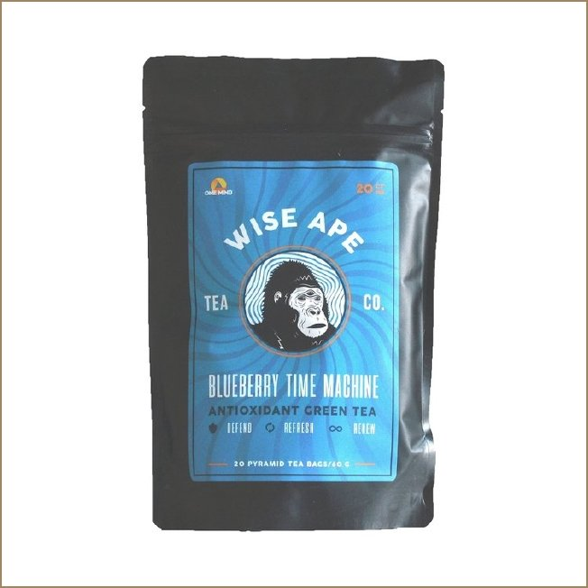 Blueberry Time Machine Antioxidant Tea - The VitaKea Store - Nootropics & Biohacking for New Zealand