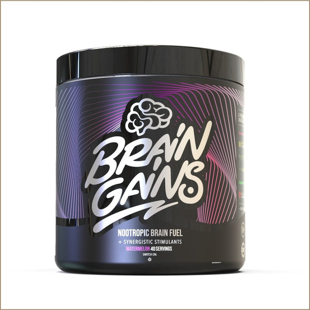 Brain Gains: BLACK EDITION Nootropic Brain Fuel - The VitaKea Store - Nootropics & Biohacking for New Zealand