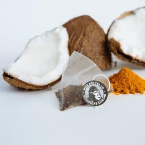 Coconut Warrior Anti-Inflammatory Tea - The VitaKea Store - Nootropics & Biohacking for New Zealand